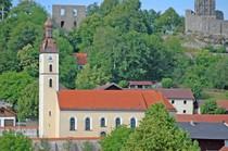 Bild der Pfarrkirche Brennberg