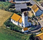 Bild der Filialkirche Bruckbach