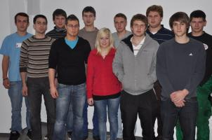 Bild der Vorstandschaft der KLJB Frauenzell